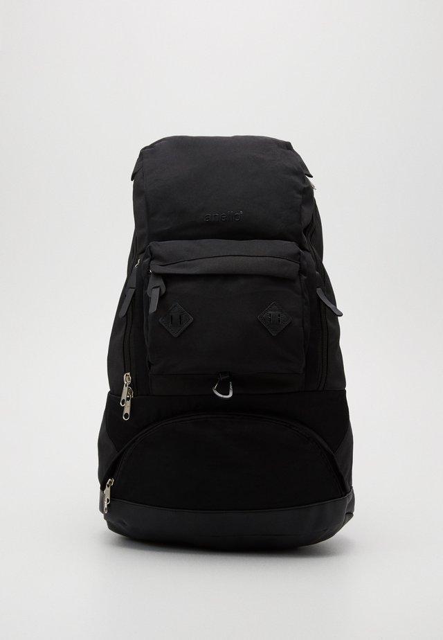 NOSTALGIC BACKPACK - Reppu - black
