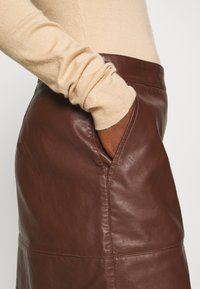 Soyaconcept - GUNILLA  - A-line skirt - brown - 6
