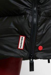 Hunter ORIGINAL - WOMENS ORIGINAL PUFFER COAT - Winter coat - black - 6