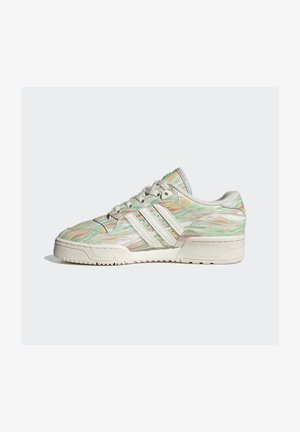 RIVALRY - Trainers - chalk white chalk white frozen green
