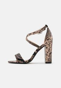 Glamorous - Sandały na obcasie - beige - 1