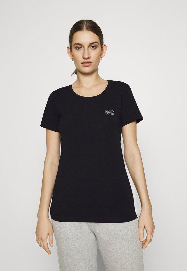 BASICA - Camiseta estampada - nero