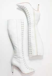KIOMI - Bottes à lacets - white - 3