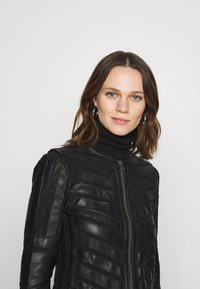 Gipsy - SURI LELEV - Leather jacket - black - 3