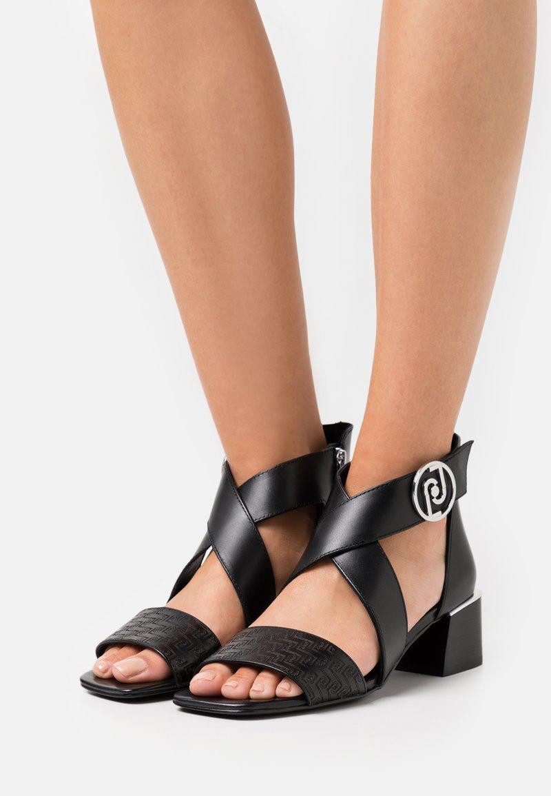 LIU JO - PALMA - Sandals - black