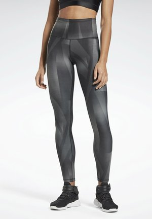 LUX REECYCLED STUDIO LEGGINGS - Collants - black