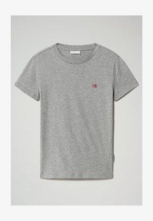 SALIS - T-shirt basic - medium grey melange