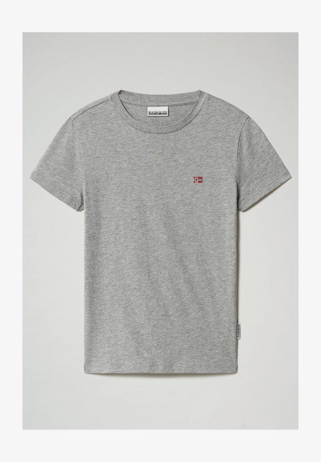 T-shirt basic - medium grey melange