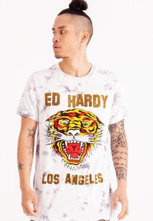 LOS TIGRE  - T-shirt med print - grey