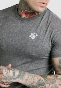 SIKSILK - STRAIGHT GYM TEE - T-shirt basic - grey - 4