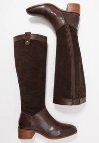 Anna Field - LEATHER BOOTS - Støvler - dark brown - 3