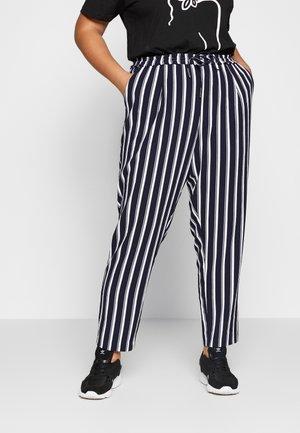 CARCASIA LONG PANTS - Bukser - peacoat
