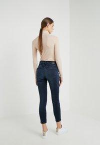 CLOSED - SKINNY PUSHER - Skinny džíny - dark blue - 2