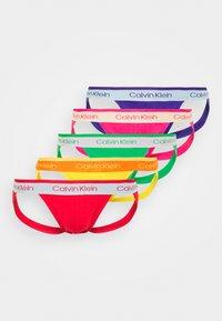 Calvin Klein Underwear - JOCK STRAP 5 PACK - Briefs - multi-coloured - 0