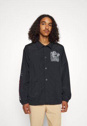 TRUNKS SEQUENCE COACH JACKET - Summer jacket - black