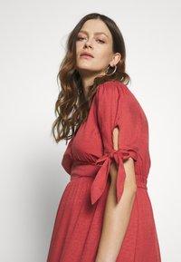 Glamorous Bloom - DRESS - Sukienka letnia - faded red - 3