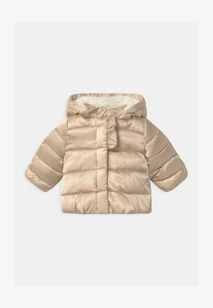 Winter jacket - bleached sand