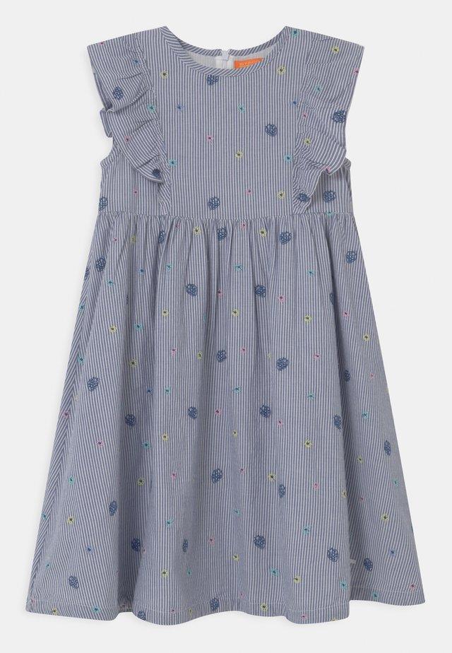 Korte jurk - indigo blue