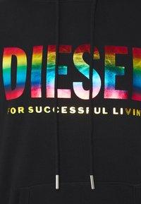 Diesel - PRIDE HOOD - Hoodie - black - 2