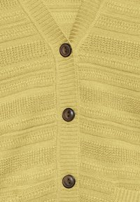 Fransa - FRITLINE - Cardigan - yellow - 5
