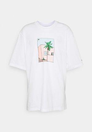 HAND DRAWN TEE - T-shirt z nadrukiem - white