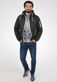 Solid - TILLY - Light jacket - dark grey - 1