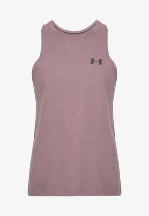 CHARGED TANK - T-shirt de sport - hushed pink/white