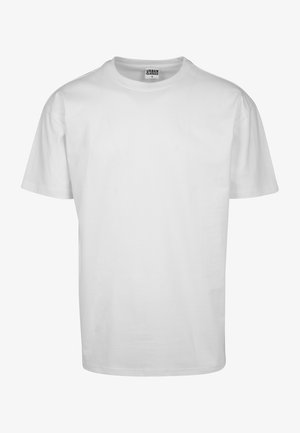 HEAVY OVERSIZED TEE - T-shirt - bas - white