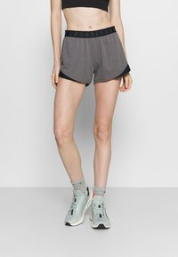 Under Armour - PLAY UP SHORTS 3.0 - Sports shorts - carbon heather - 0