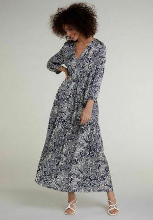Maxi dress - white blue