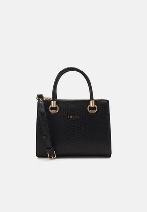 SATCHEL DOUBLE ZIP - Handbag - nero