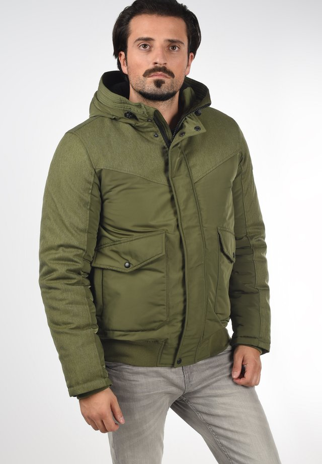 INACIO - Winter jacket - ivy green