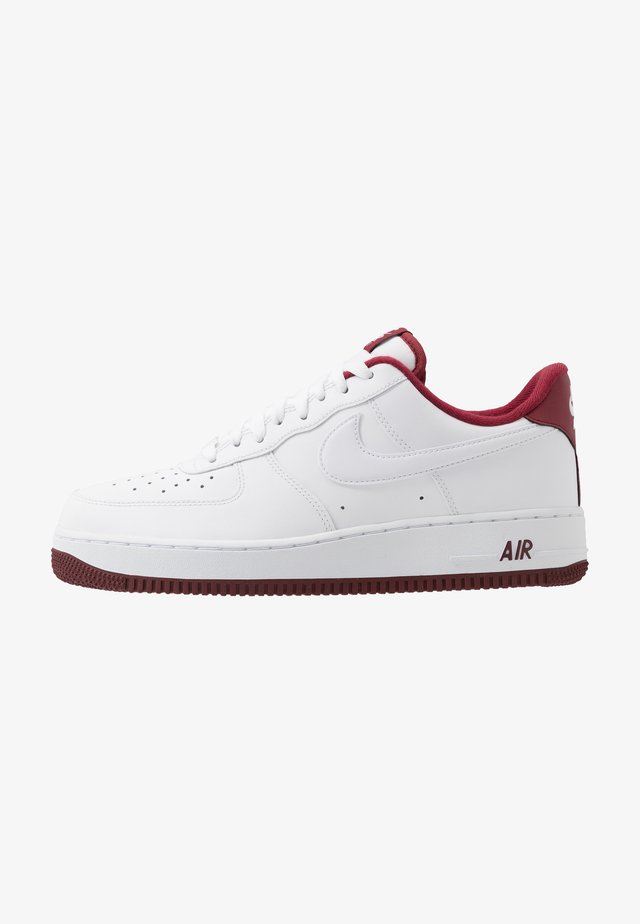AIR FORCE 1 '07 - Sneakers laag - white/university red
