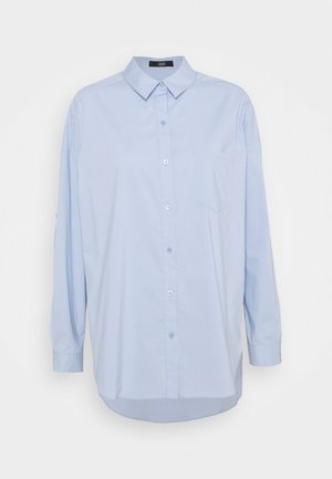 NADJA BLOUSE - Button-down blouse - sky blue