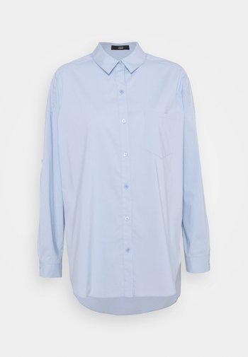 NADJA BLOUSE - Button-down blouse - sky blue