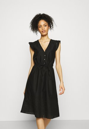 MIDI DRESS - Day dress - true black