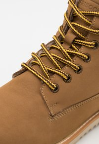 Friboo - Lace-up ankle boots - camel - 5