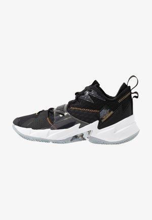 WHY NOT ZER0.3 - Basketball shoes - black/metallic gold/white