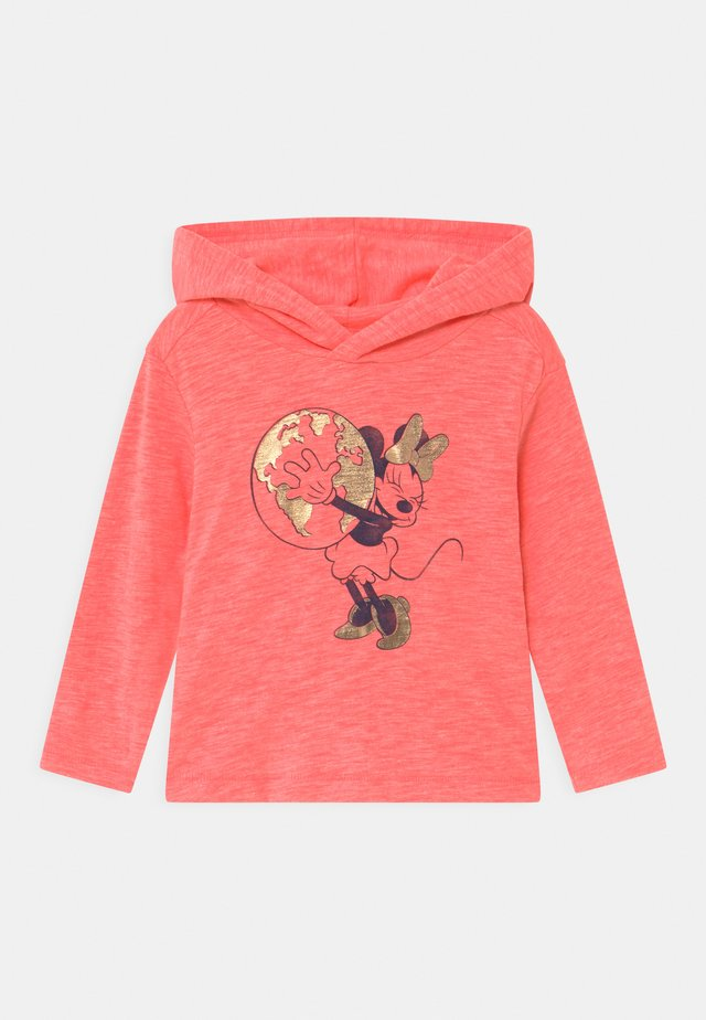 TODDLER GIRL LOVE - Kapuzenpullover - mottled pink