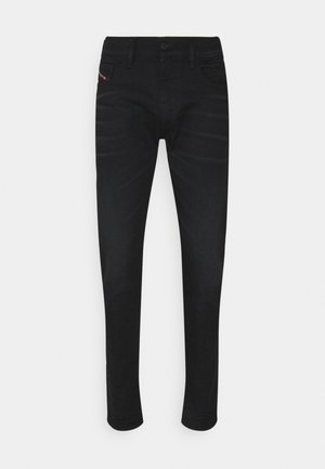 Jeans straight leg - black denim