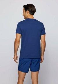 BOSS - RN - Print T-shirt - dark blue - 1
