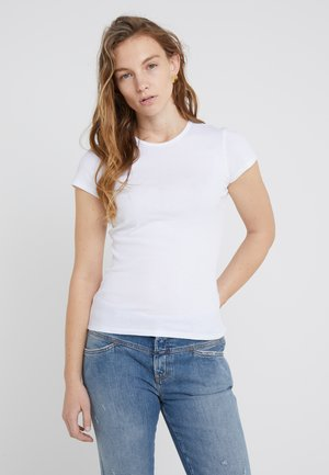 FINE TEE - Basic T-shirt - white
