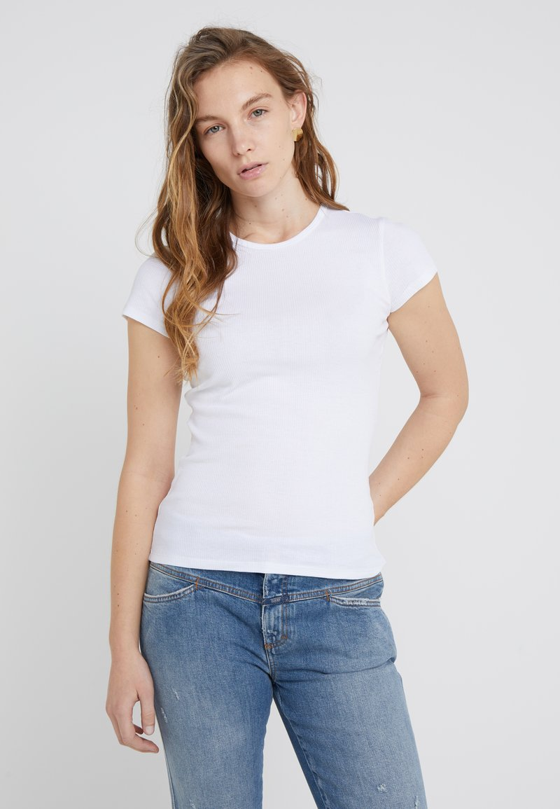 Filippa K - FINE TEE - Basic T-shirt - white