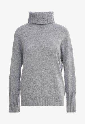 LUXURY WEEKEND ROLL NECK SWEATER - Jumper - light grey