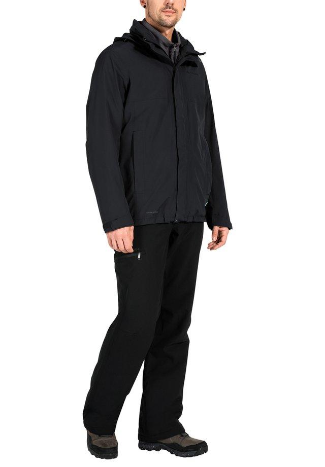 Hardshell jacket - black