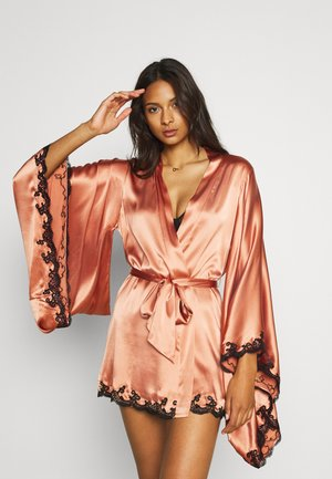 KIMONO - Dressing gown - bronze