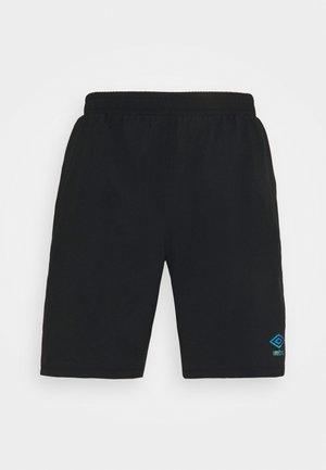 PRO TRAINING SHORT - Sports shorts - black/carbon