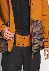 O'Neill - TEXTURE JACKET - Snowboard jacket - glazed ginger - 4