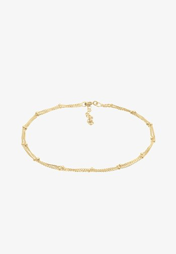 FUSSSCHMUCK KUGELKETTE  - Bracelet - gold-coloured