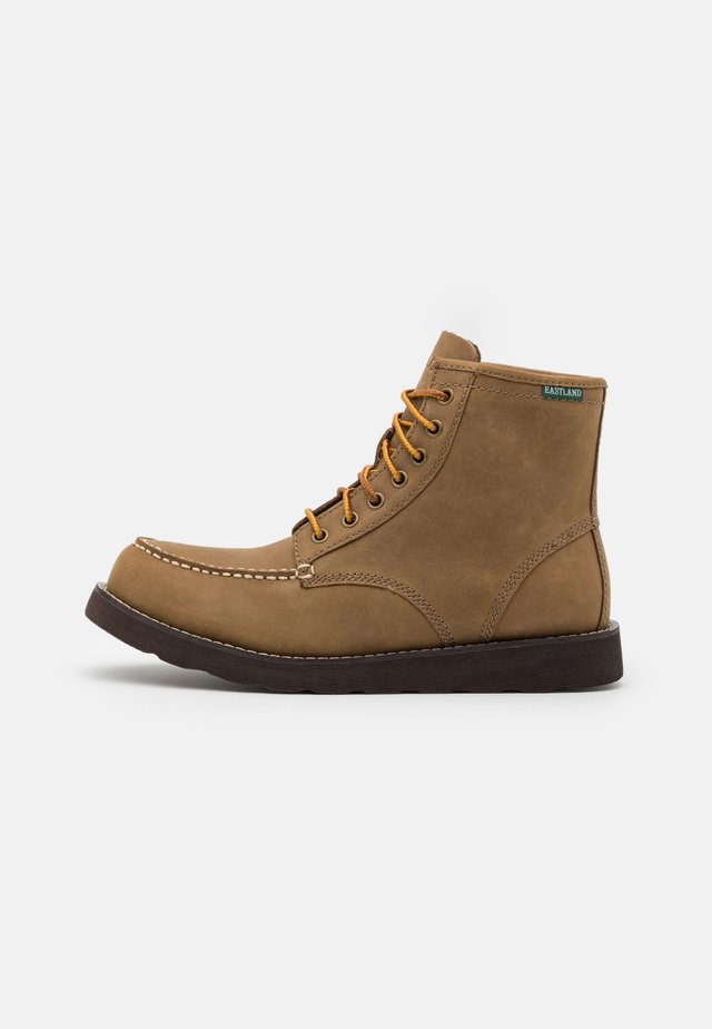 LUMBER UP - Bottines à lacets - natural